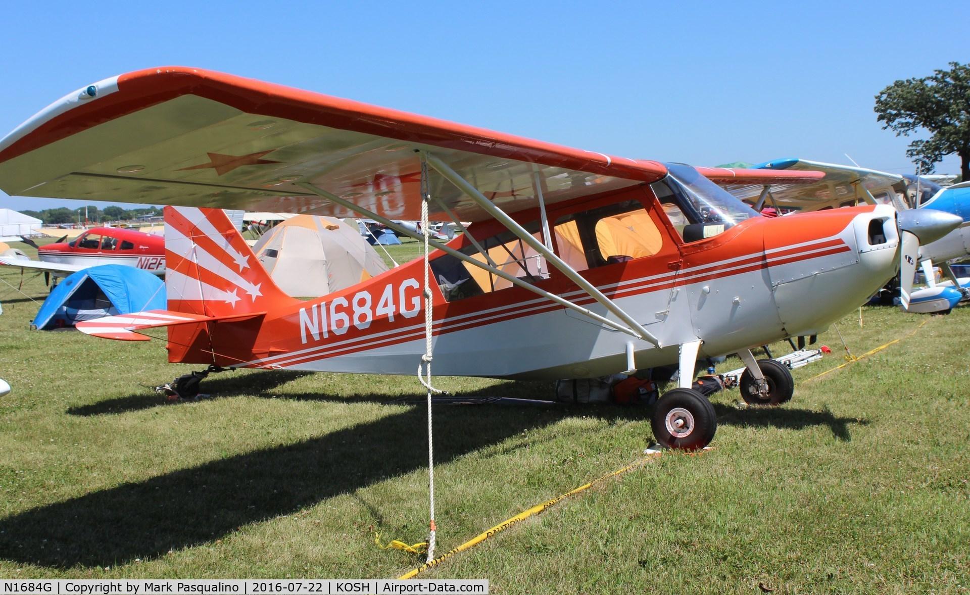 N1684G, 1968 Champion 7KCAB C/N 139, Champion 7KCAB