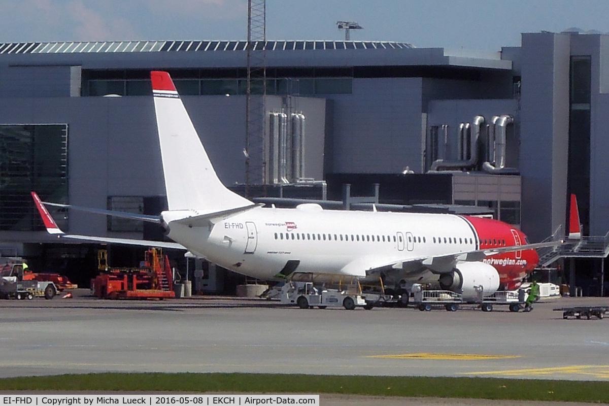 EI-FHD, 2012 Boeing 737-8JP C/N 39011, At Kastrup
