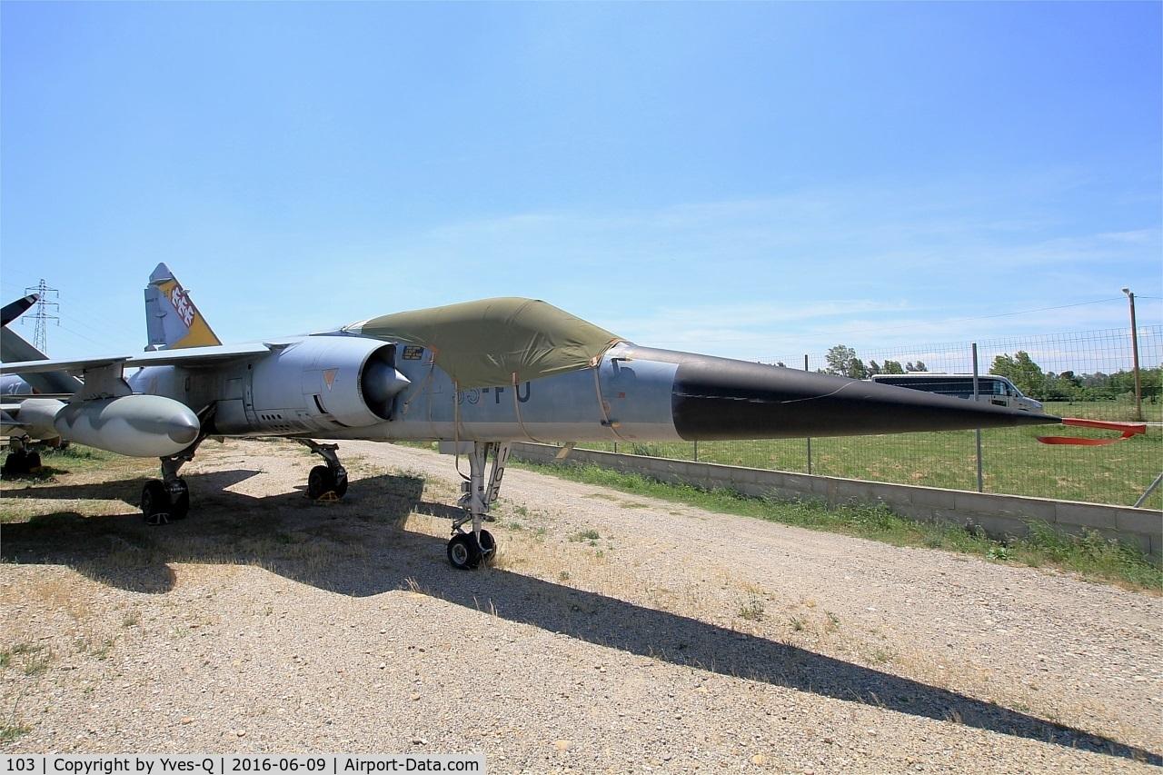 103, Dassault Mirage F.1C C/N 103, Dassault Mirage F1 C, Preserved at at