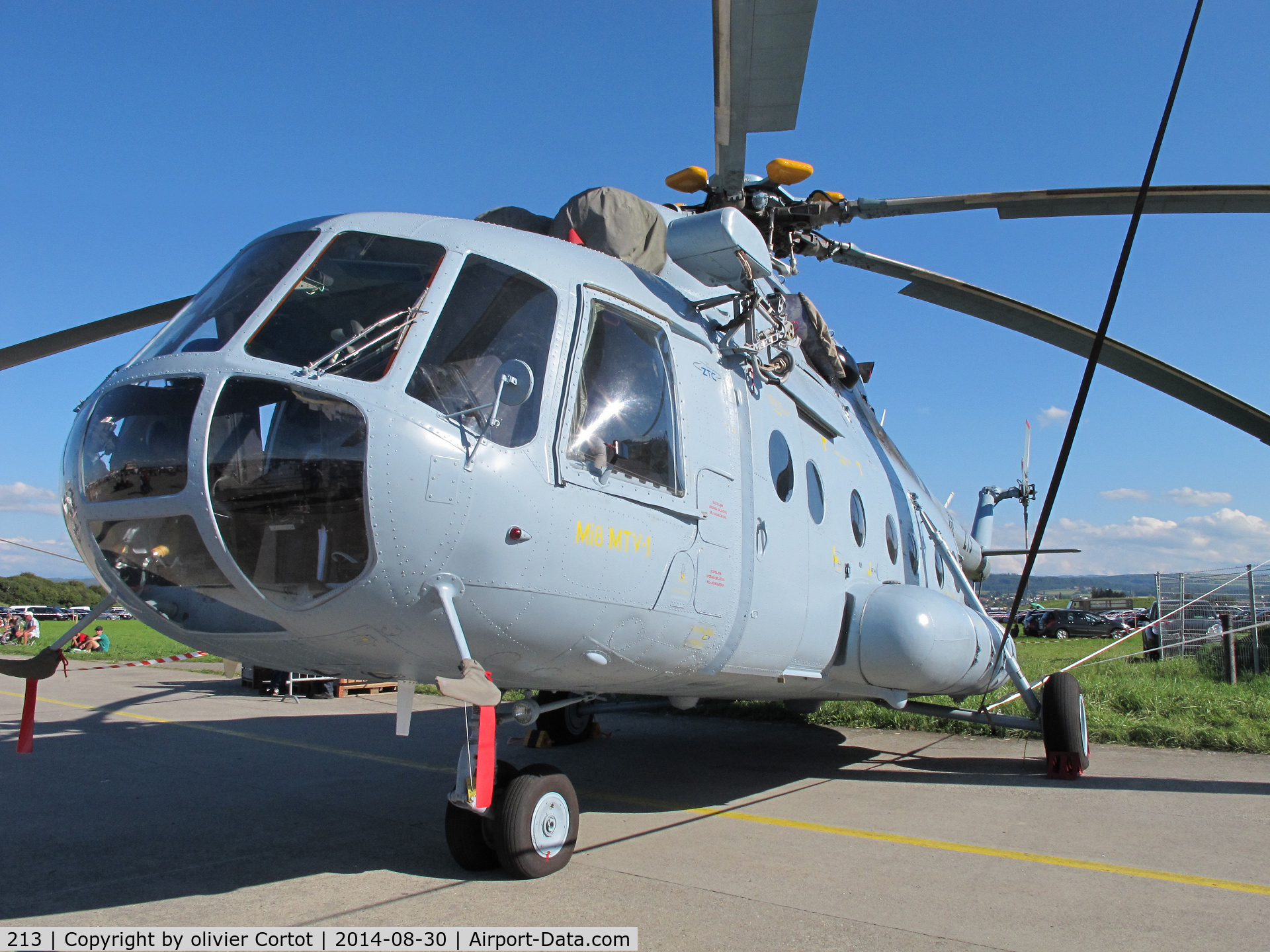 213, Mil Mi-8MTV-1 Hip C/N 96055, Air 14