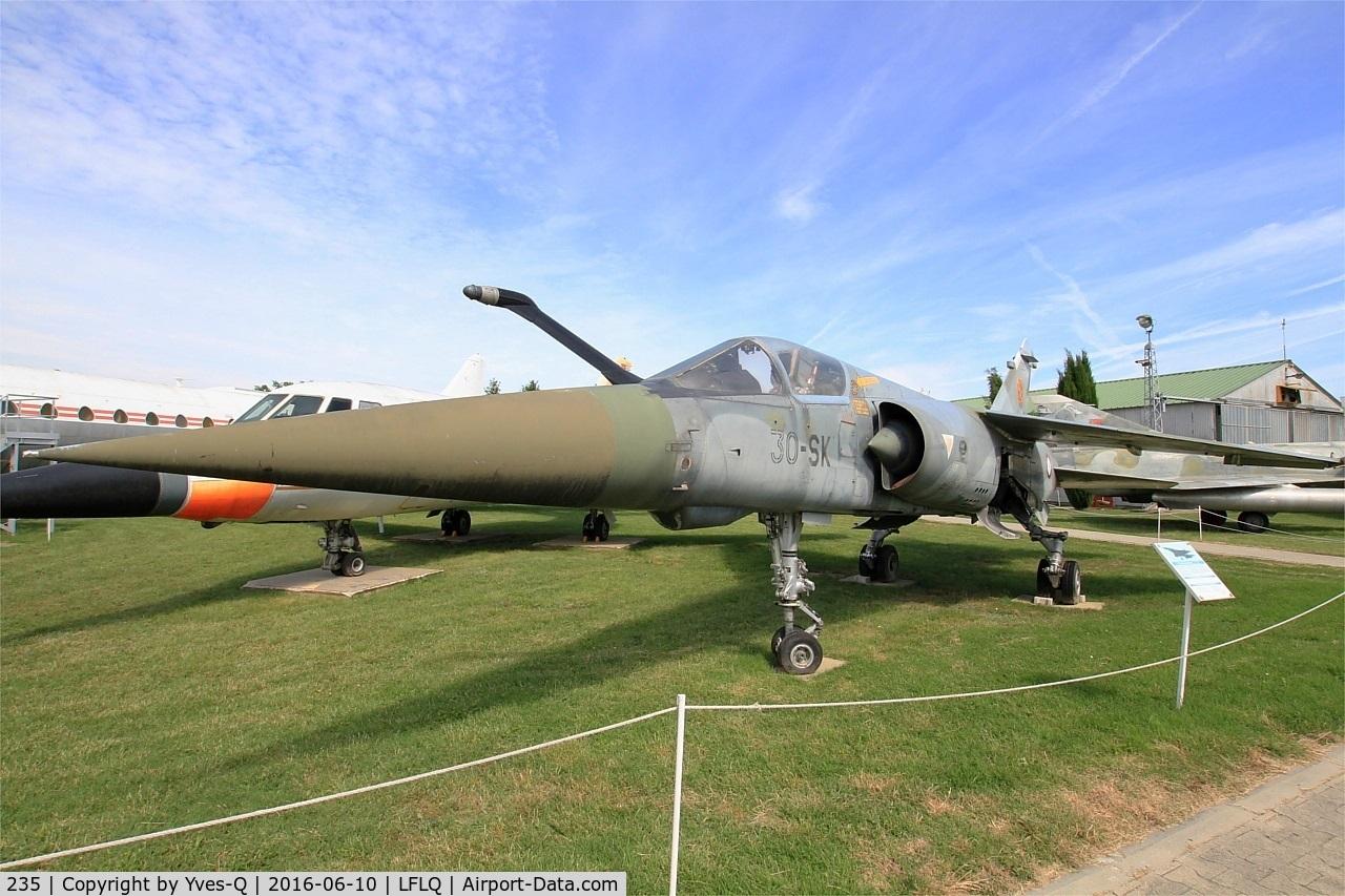 235, Dassault Mirage F.1CT C/N 235, Dassault Mirage F1CT, Musée Européen de l'Aviation de Chasse, Montélimar-Ancône airfield (LFLQ)