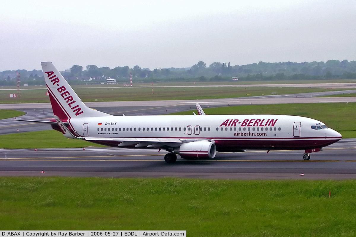 D-ABAX, 2000 Boeing 737-86J C/N 30063, Boeing 737-86J [30063] (Air Berlin) Dusseldorf~D 27/05/2006