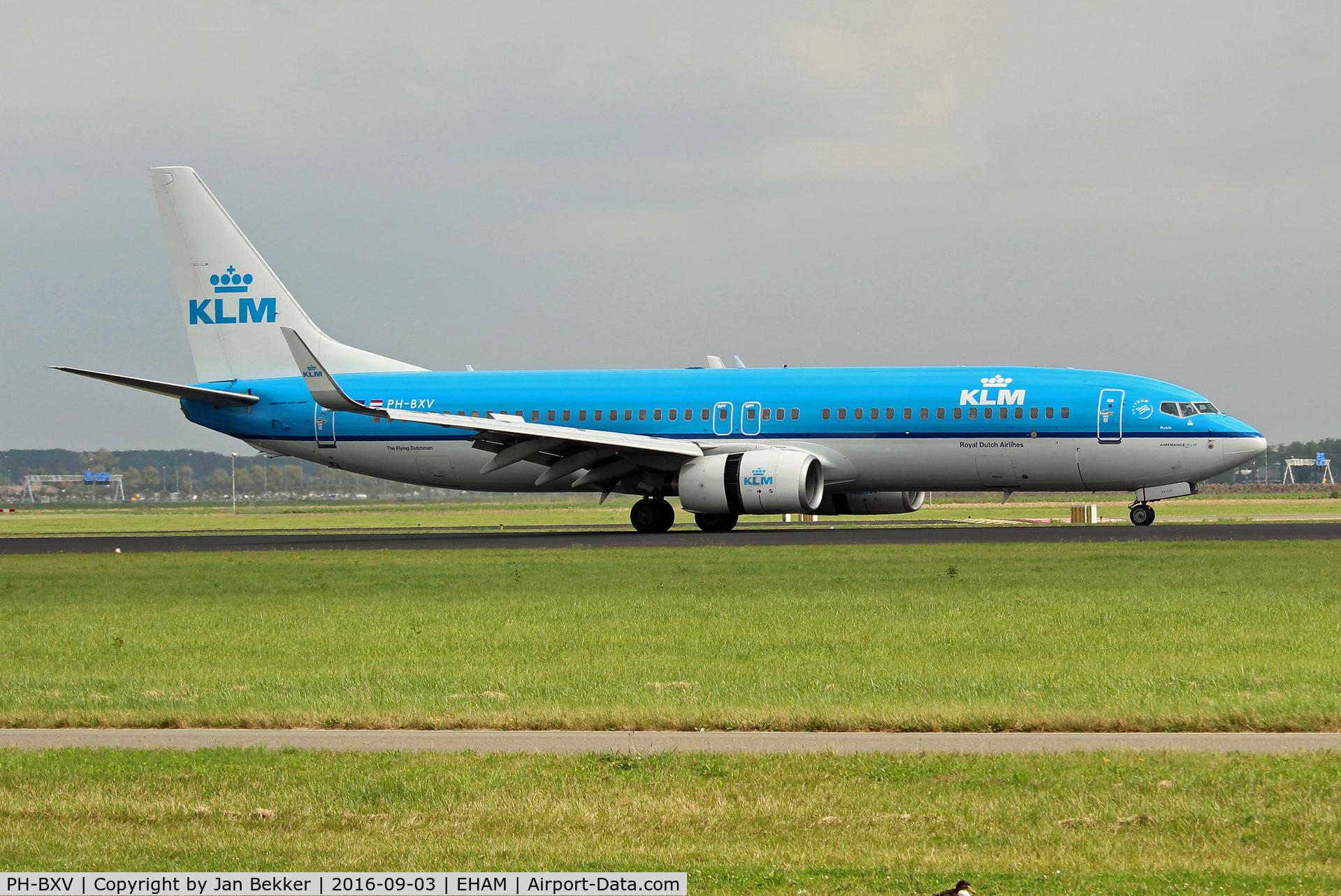 PH-BXV, 2007 Boeing 737-8K2 C/N 30370, Schiphol, Amsterdam