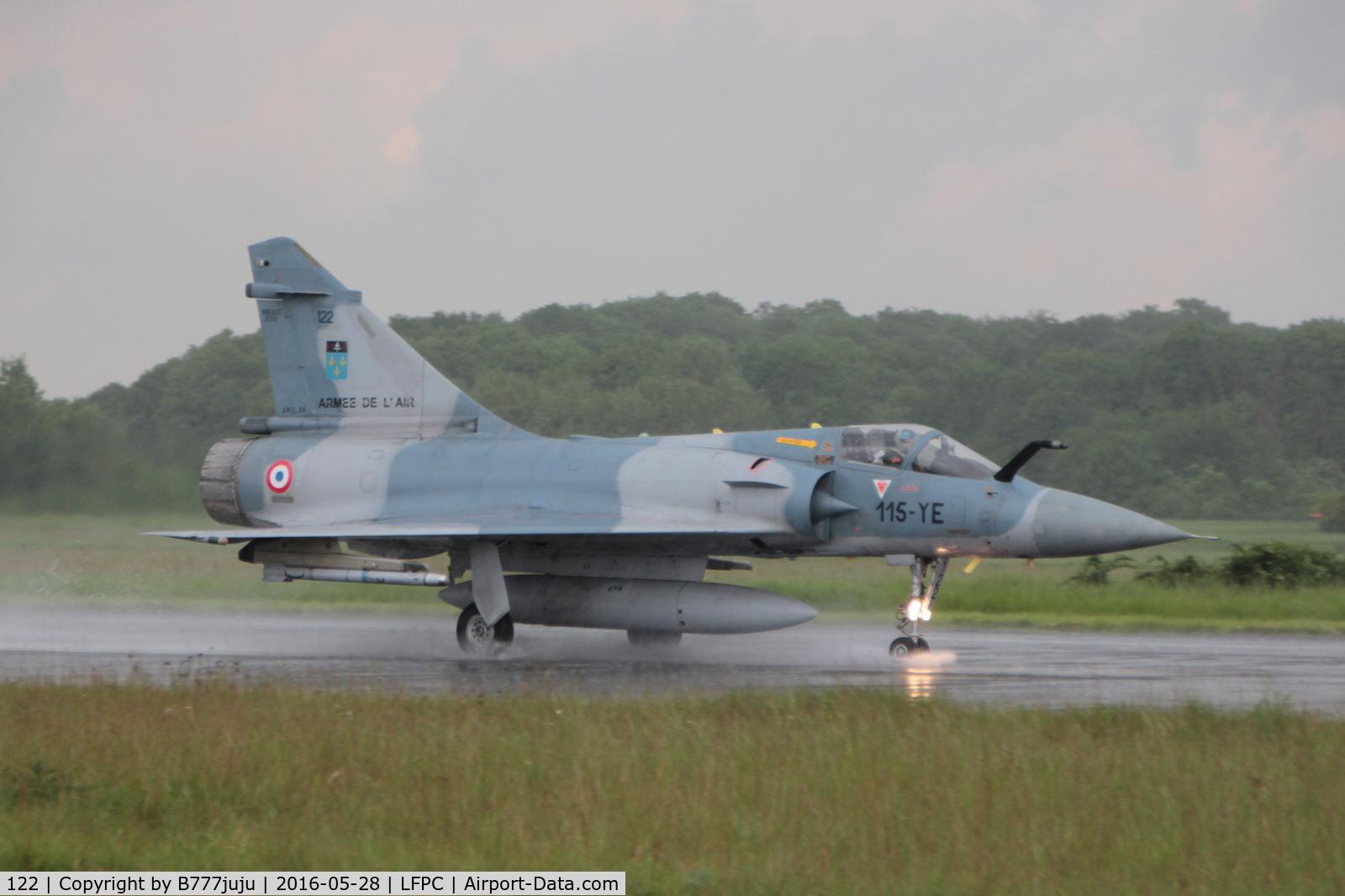 122, Dassault Mirage 2000C C/N 405, at Creil