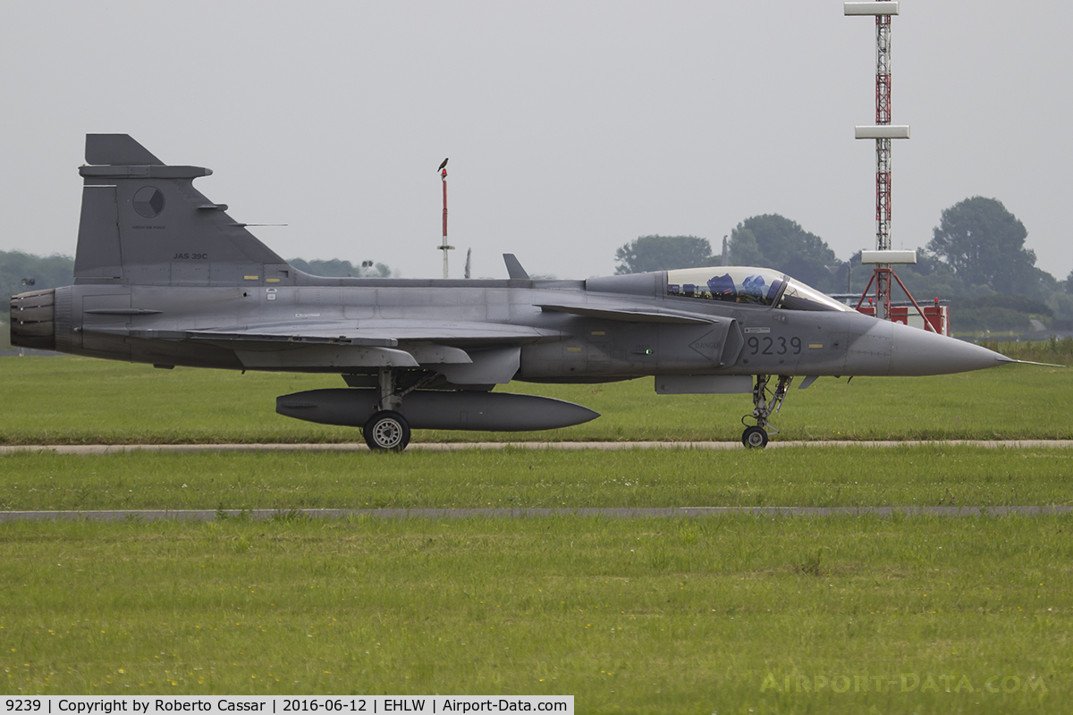 9239, Saab JAS-39C Gripen C/N 39239, Luchtmahdagen 2016