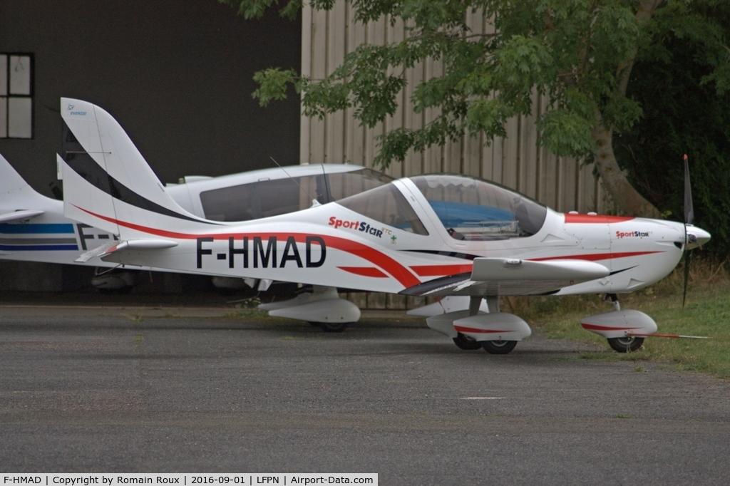 F-HMAD, Evektor SportStar RTC C/N Not found F-HMAD, Parked