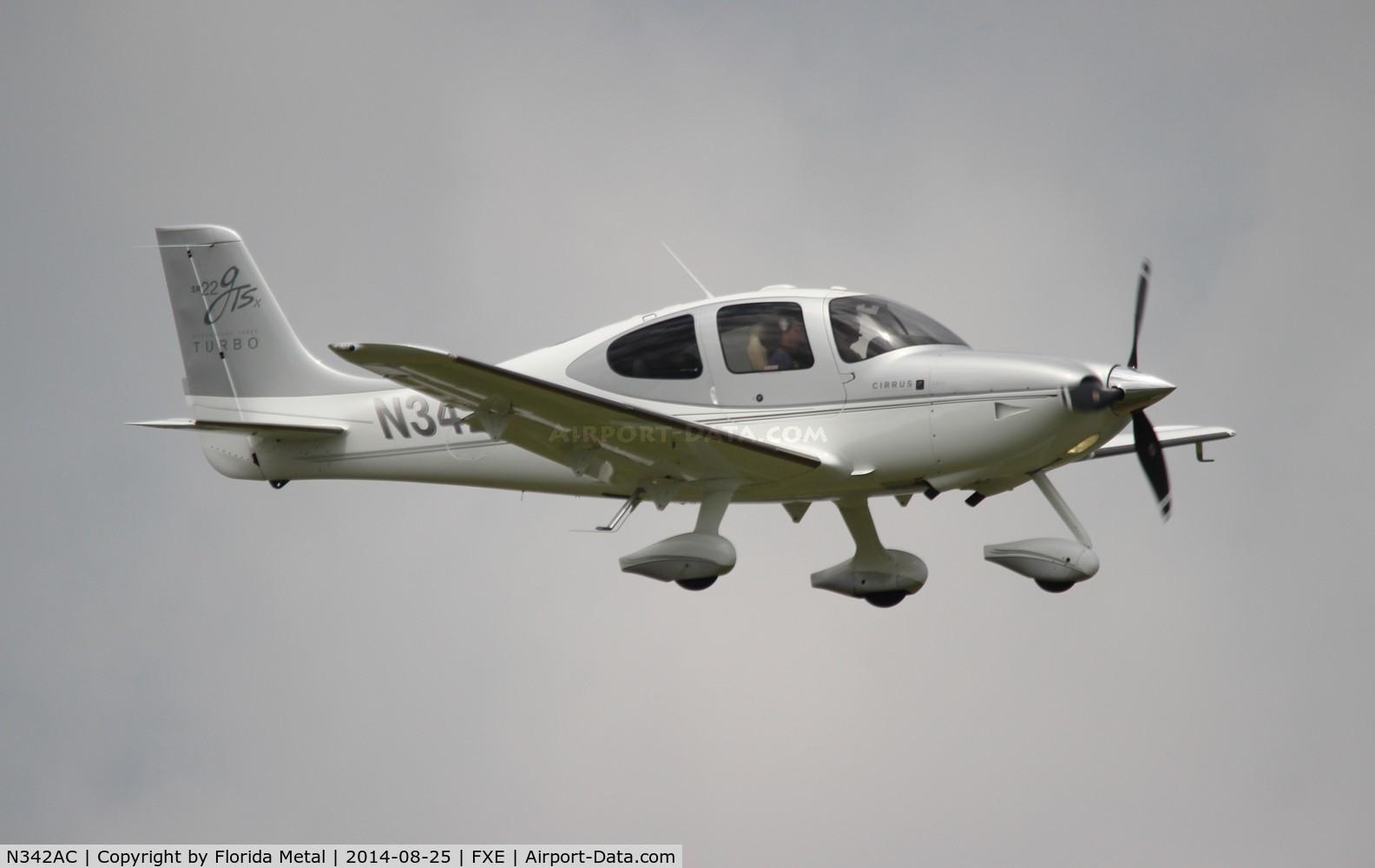 N342AC, 2008 Cirrus SR22 G3 GTSX Turbo C/N 3051, Cirrus SR22