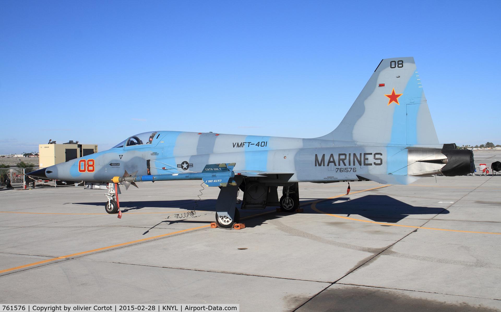 761576, Northrop F-5N Tiger II C/N L.1051, static display