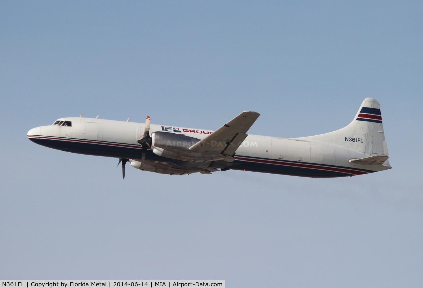 N361FL, 1956 Convair 5800 Metropolitan C/N 343, Convair 5800