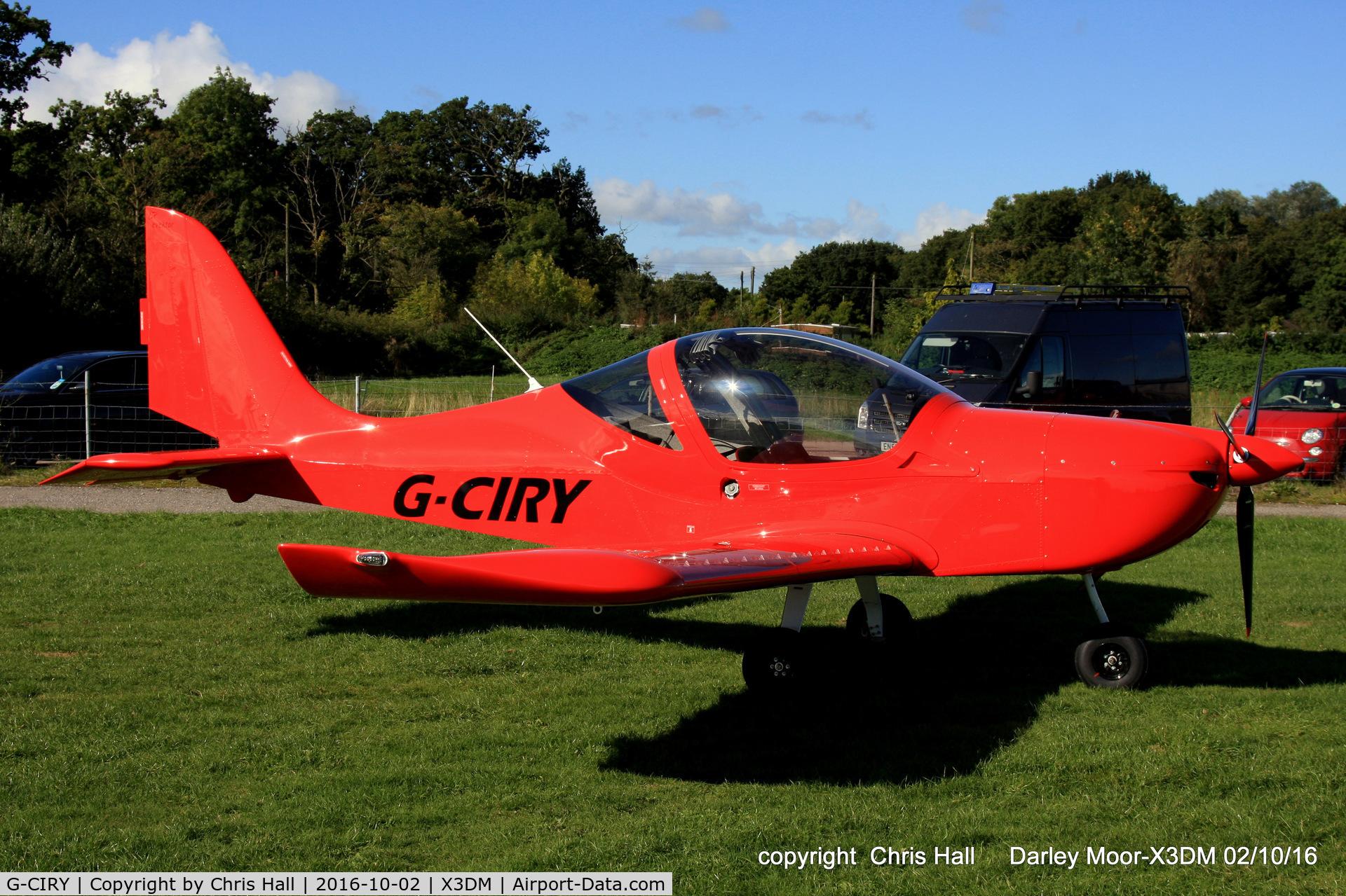 G-CIRY, 2015 Evektor EV-97 Eurostar SL C/N 2015-4222, at Darley Moor Airfield