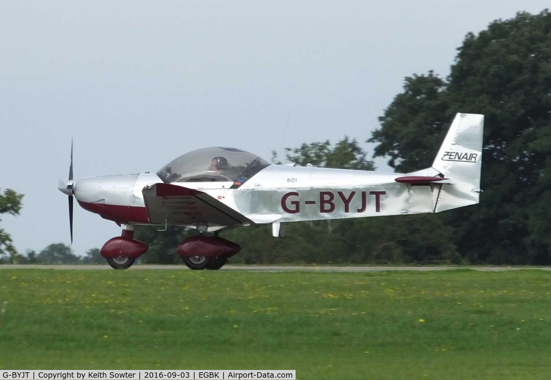 G-BYJT, 1999 Zenair CH-601HD C/N PFA 162-13130, LAA Fly-In