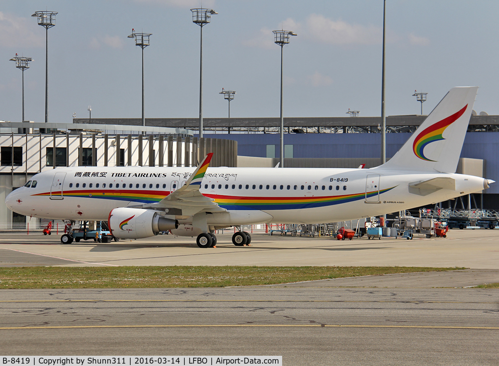 B-8419, 2016 Airbus A320-214 C/N 6986, Ready for delivery...