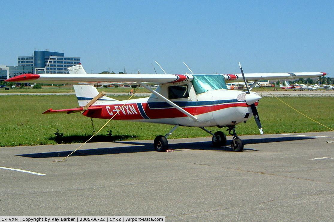C-FVXN, 1967 Cessna 150G C/N 15066492, Cessna 150G [150-66492] Buttonville-Municipal~C 22/06/2005