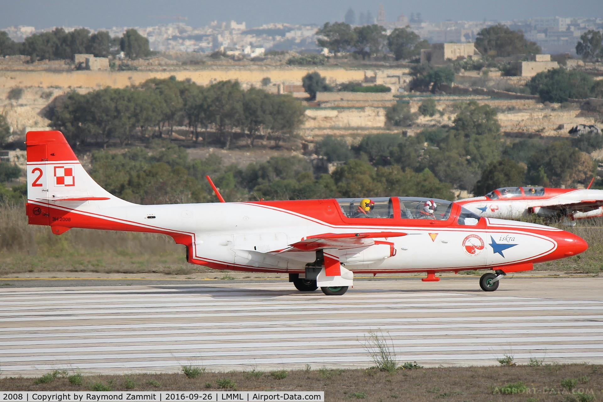 2008, PZL-Mielec TS-11 Iskra bis DF C/N 3H-2008, PZL-Mielec TS-11 Iskra 2008/2 Polish Air Force Iskra Aerobatic Team