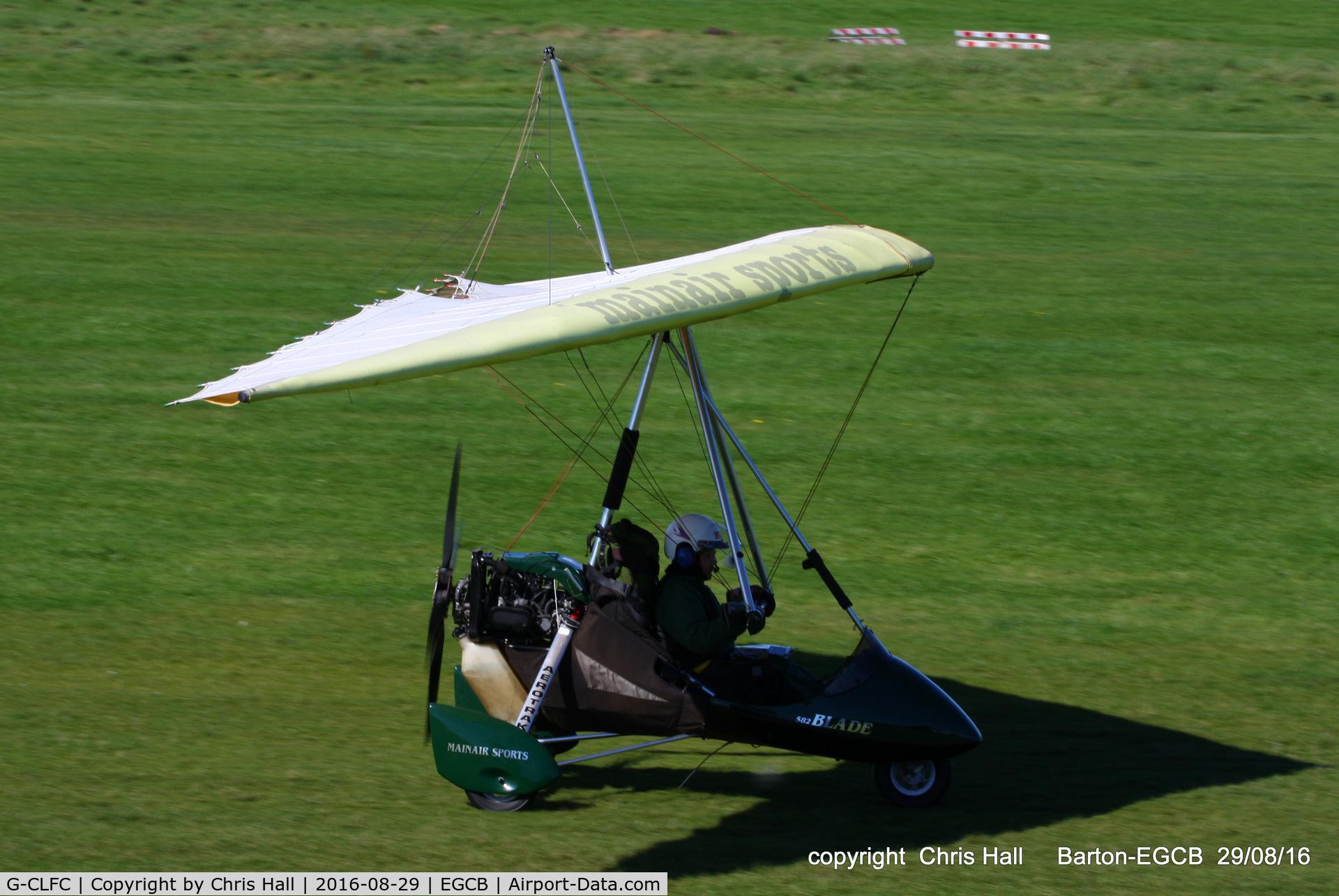 G-CLFC, 2002 Mainair Blade C/N 1324-0502-7-W1119, at Barton