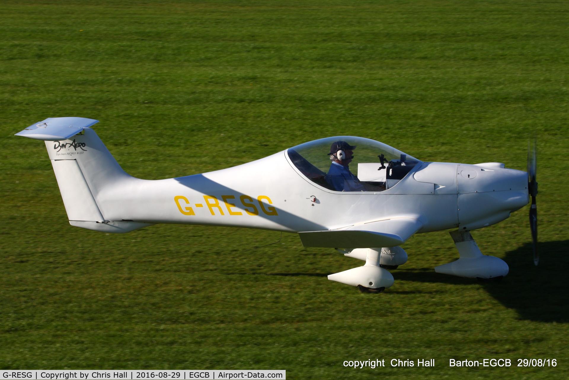 G-RESG, 2003 Dyn'Aero MCR-01 Club C/N PFA 301A-13994, at Barton