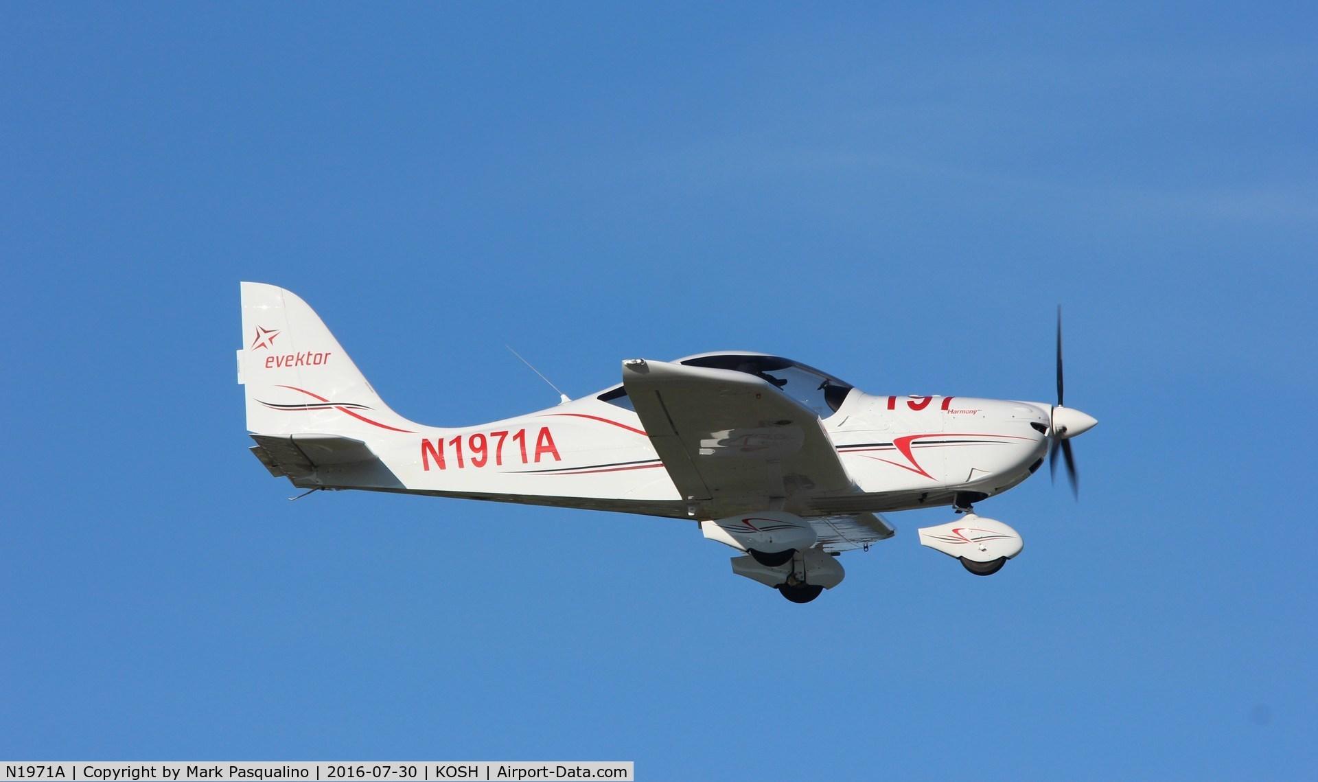 N1971A, 2014 Evektor-Aerotechnik Harmony LSA C/N 2014-1703, Evektor Harmony LSA