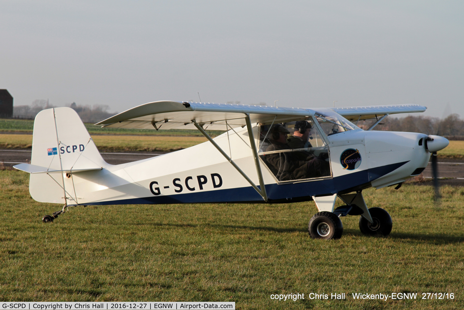 G-SCPD, 2004 Reality Escapade 912(1) C/N BMAA/HB/319, at the Wickenby