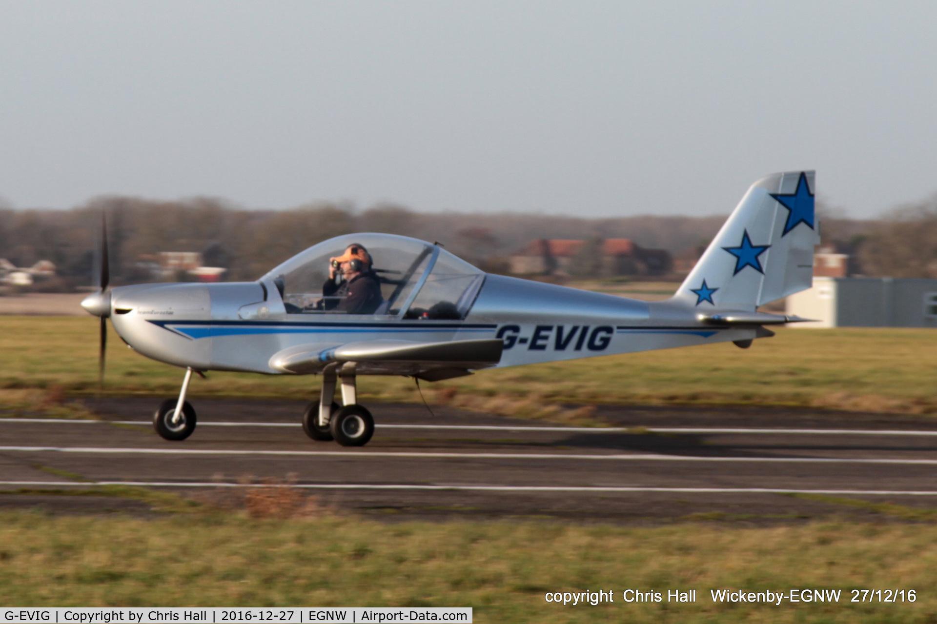 G-EVIG, 2007 Cosmik EV-97 TeamEurostar UK C/N 2930, at the Wickenby