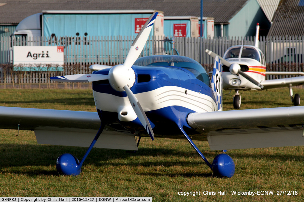 G-NPKJ, 1998 Vans RV-6 C/N PFA 181-13138, at the Wickenby