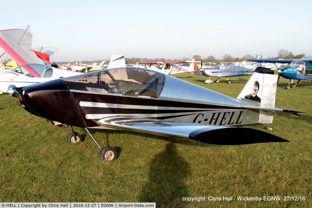 G-HELL, 2015 Sonex 3300 C/N LAA 337-15182, at the Wickenby