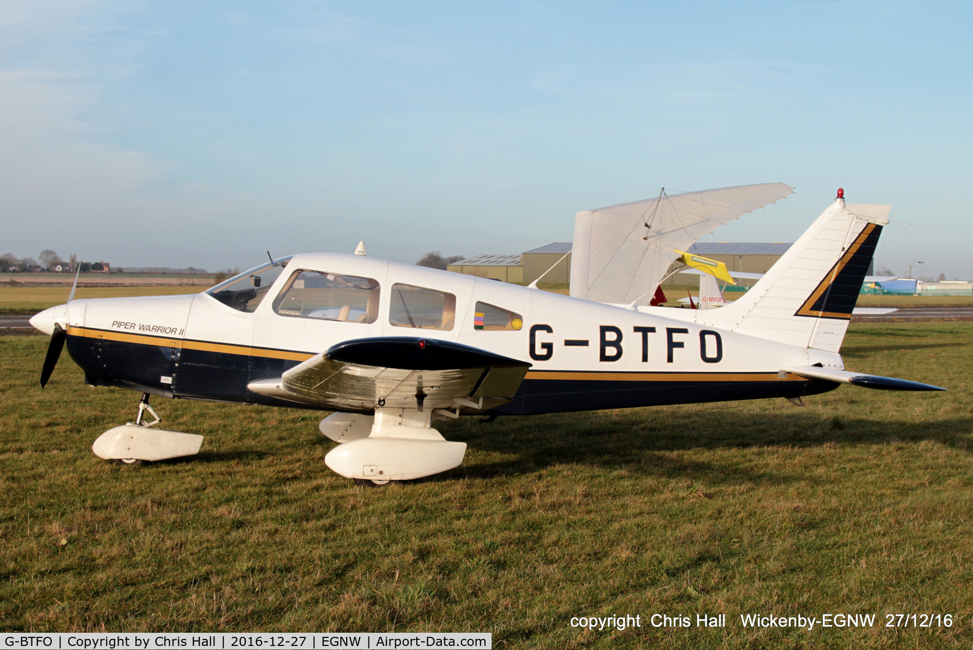 G-BTFO, 1978 Piper PA-28-161 Cherokee Warrior II C/N 28-7816580, at the Wickenby