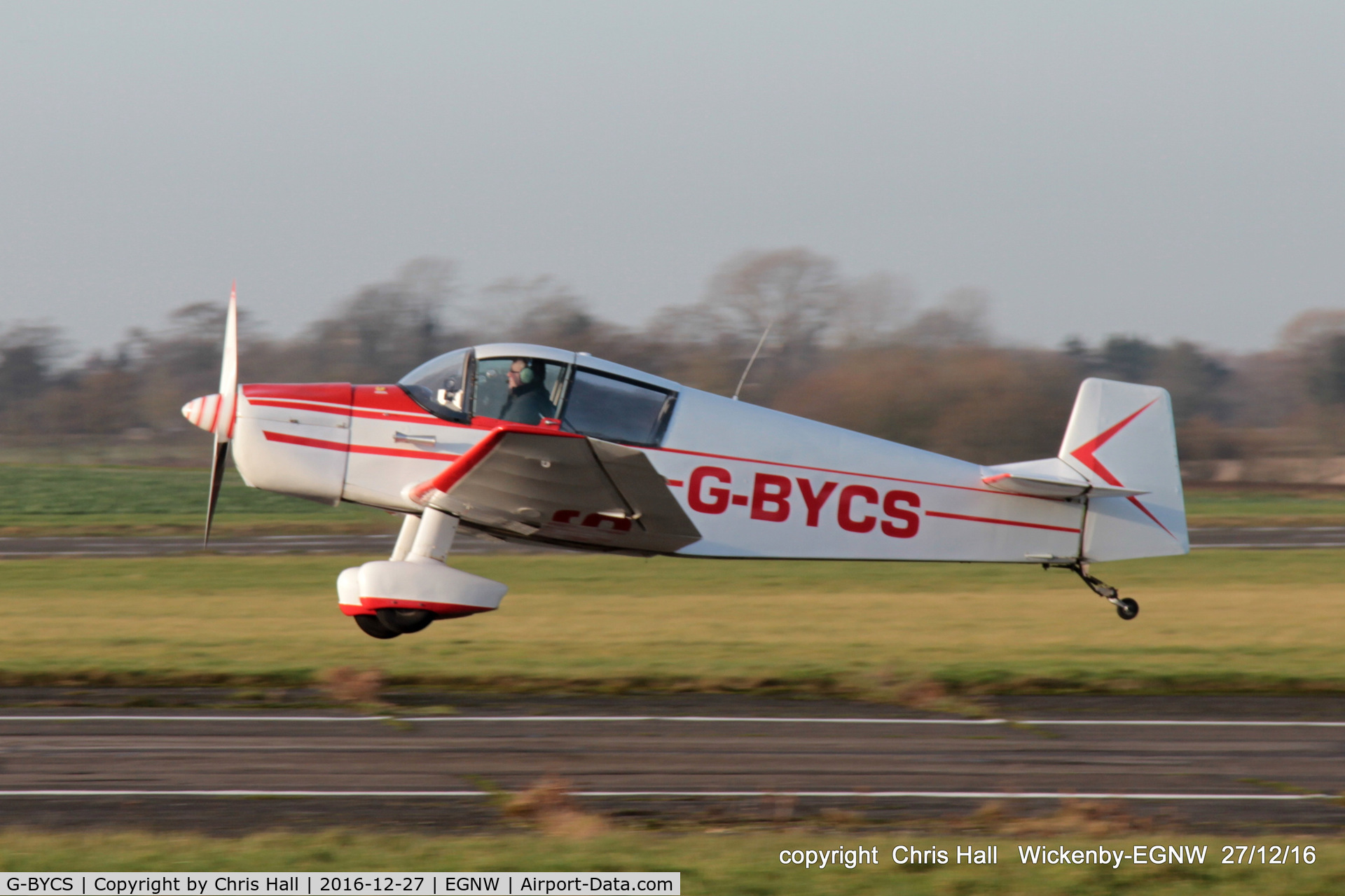 G-BYCS, 1961 CEA Jodel DR-1051 C/N 201, at the Wickenby