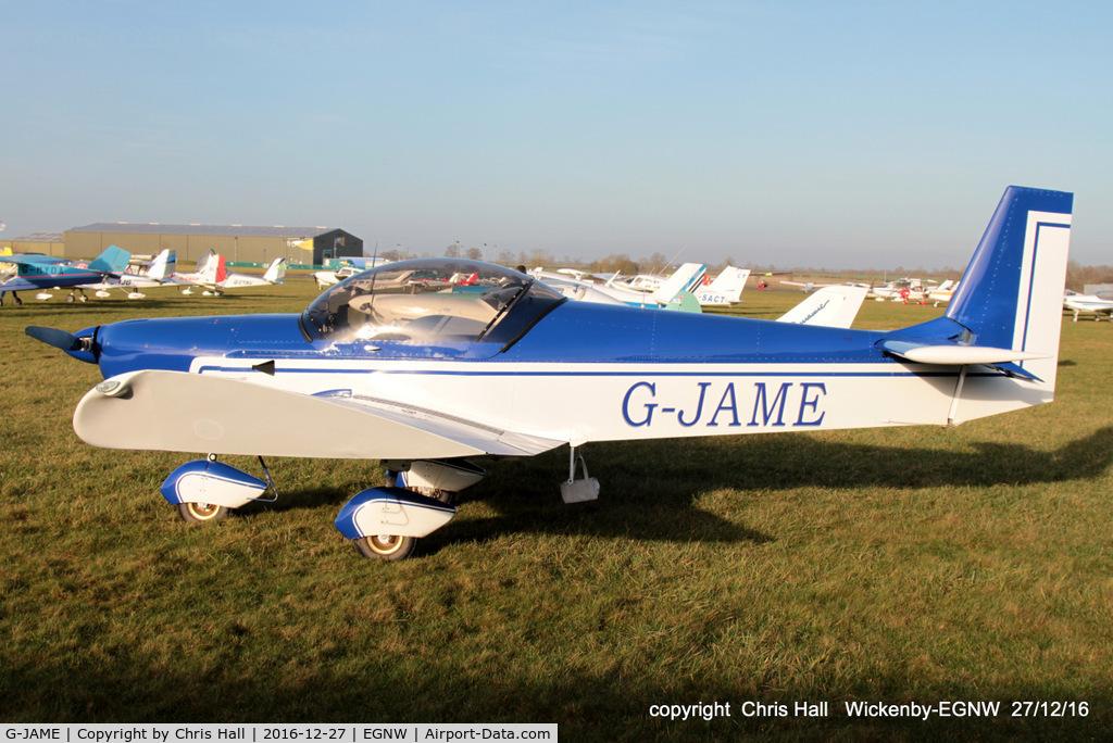 G-JAME, 2004 Zenair CH-601UL Zodiac C/N PFA 162A-14279, at the Wickenby