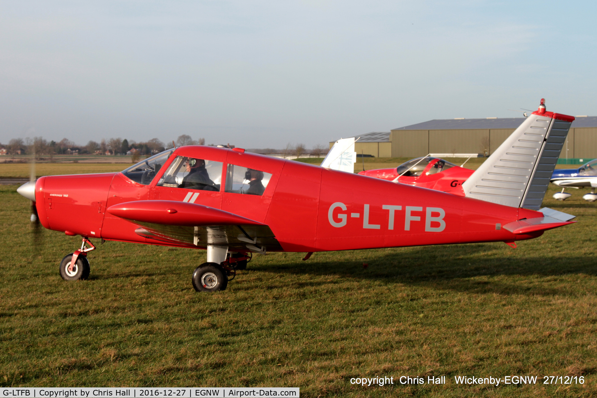 G-LTFB, 1967 Piper PA-28-140 Cherokee C/N 28-23343, at the Wickenby