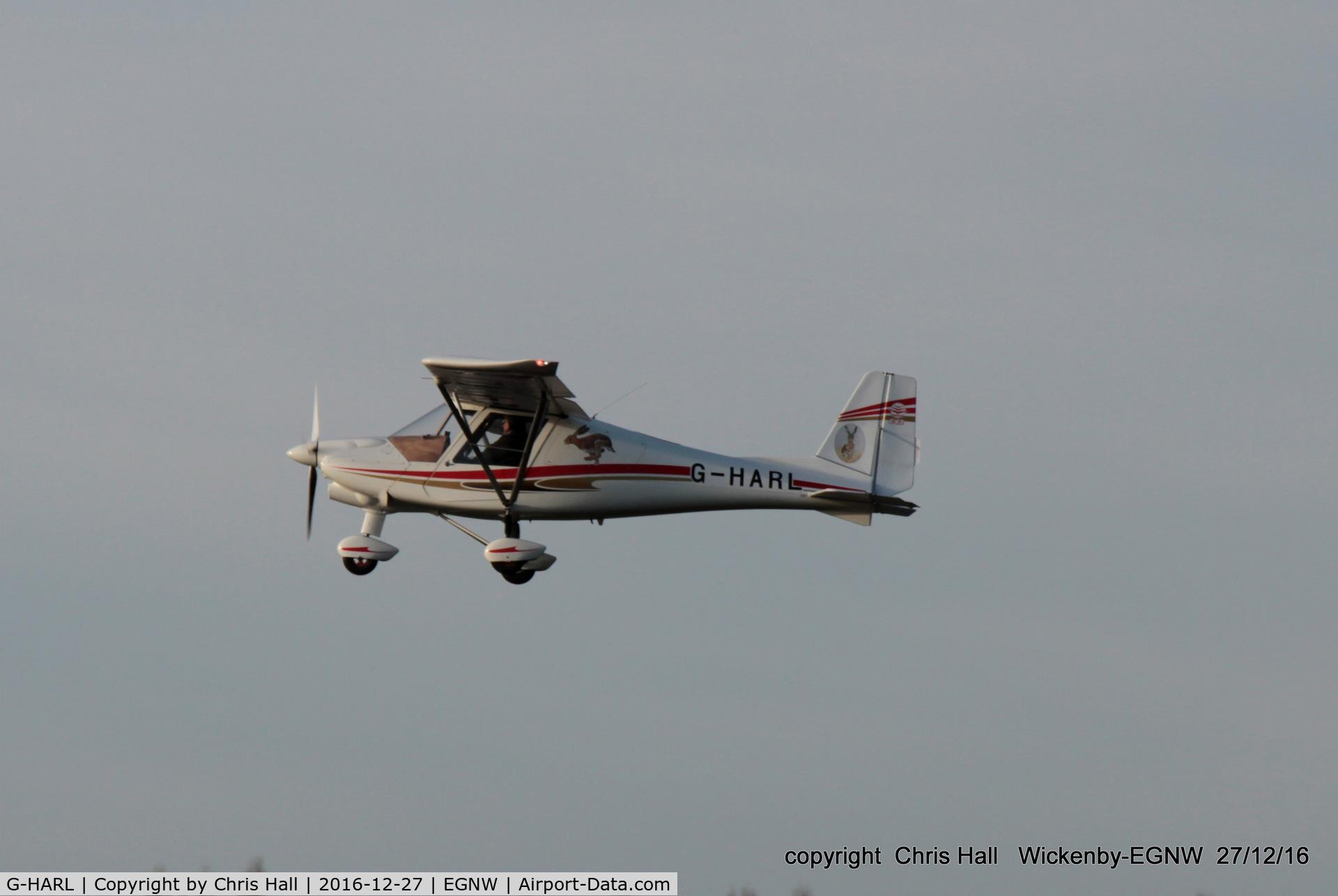 G-HARL, 2015 Comco Ikarus C42 FB100 Bravo C/N 1509-7418, at the Wickenby