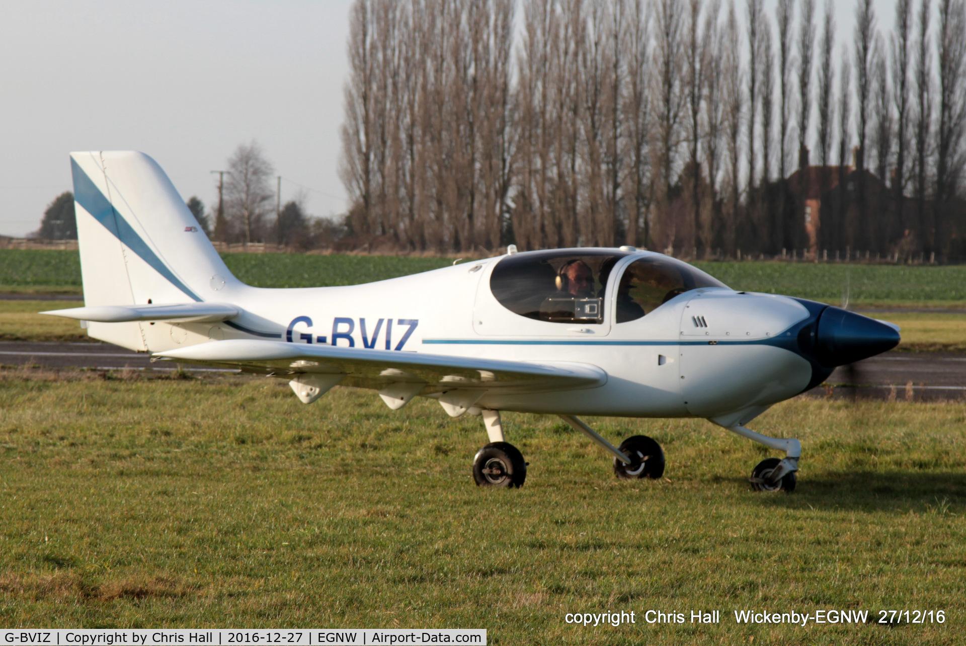 G-BVIZ, 1996 Europa Tri-Gear C/N PFA 247-12601, at the Wickenby