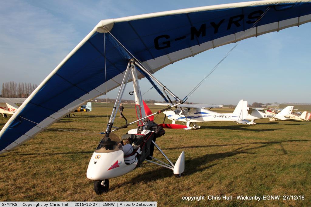 G-MYRS, 1994 Solar Wings Pegasus Quantum 15 C/N 6803, at the Wickenby