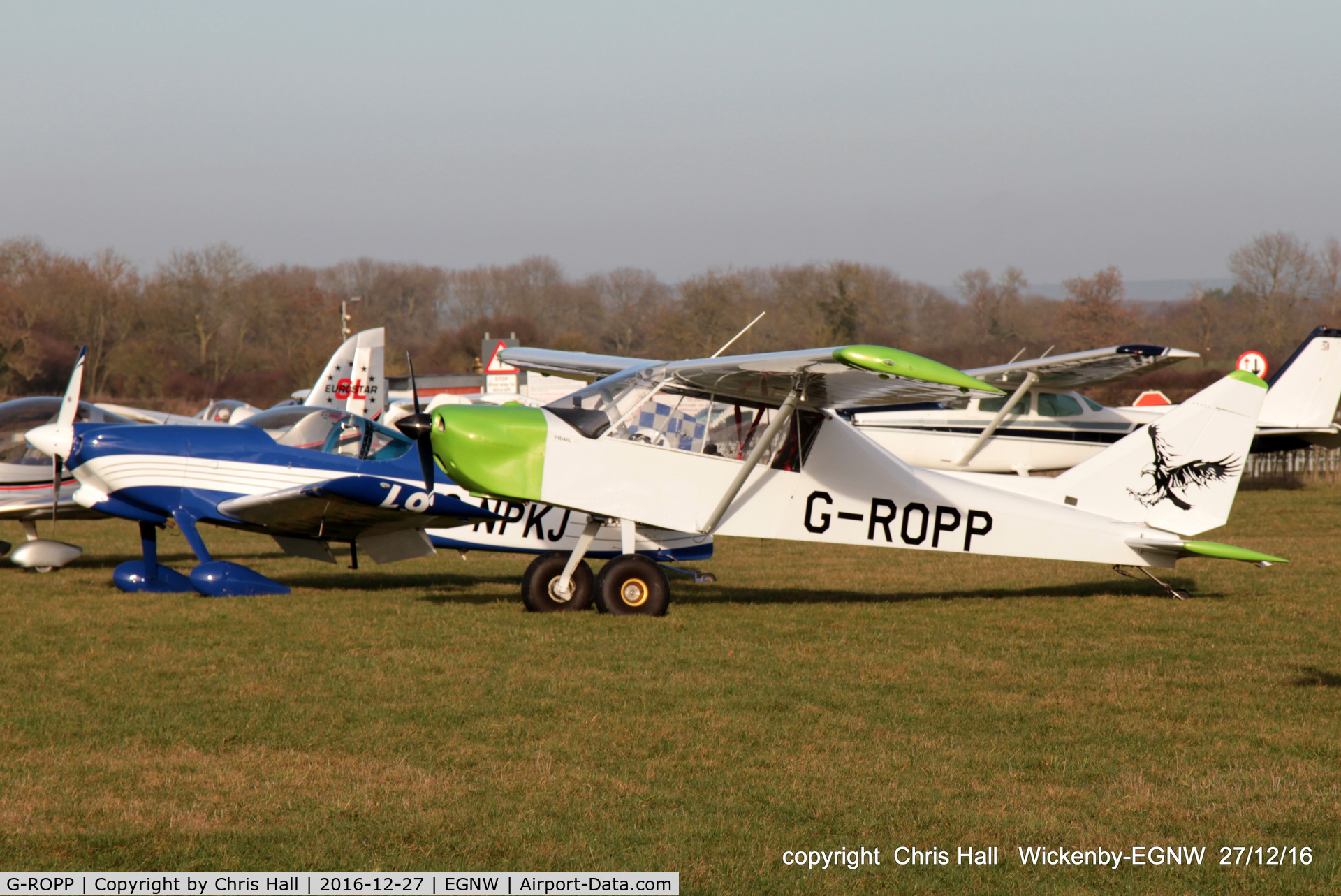 G-ROPP, 2012 Nando Groppo Trial C/N LAA 372-15178, at the Wickenby