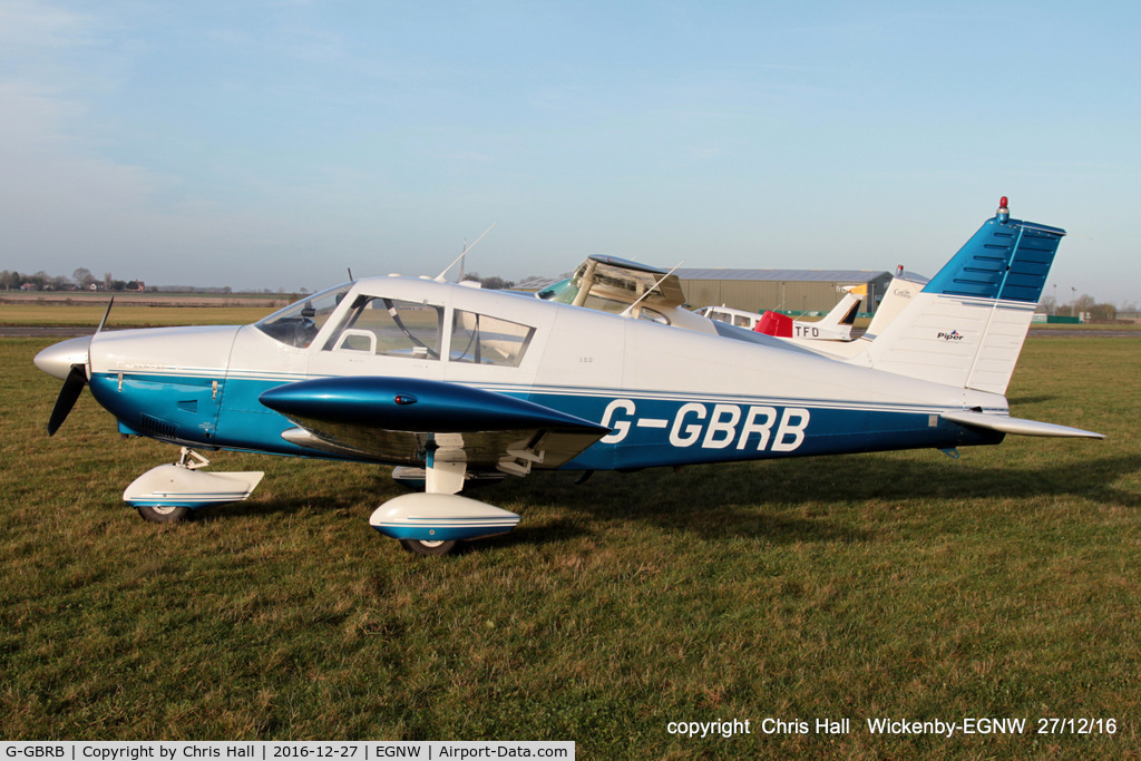G-GBRB, 1965 Piper PA-28-180 Cherokee C/N 28-2583, at the Wickenby