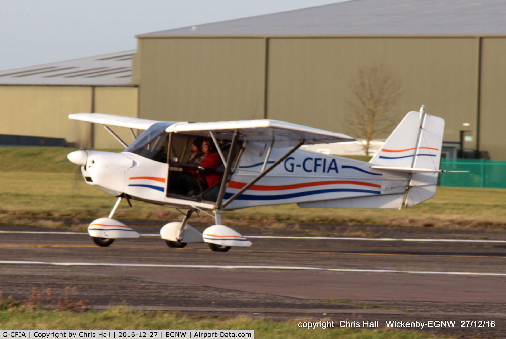 G-CFIA, 2008 Skyranger Swift 912S(1) C/N BMAA/HB/561, at the Wickenby