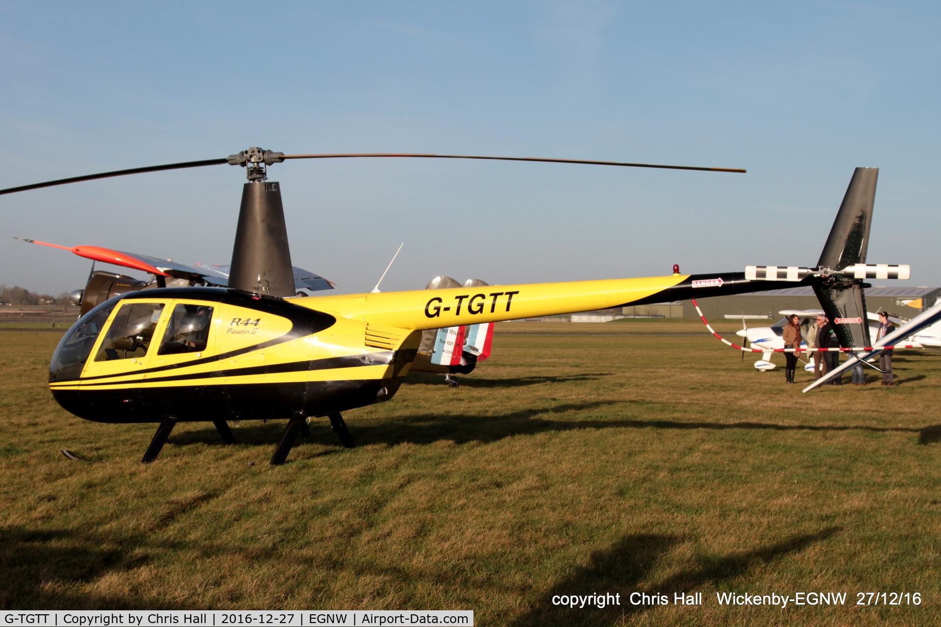 G-TGTT, 2002 Robinson R44 Raven II C/N 10023, at the Wickenby