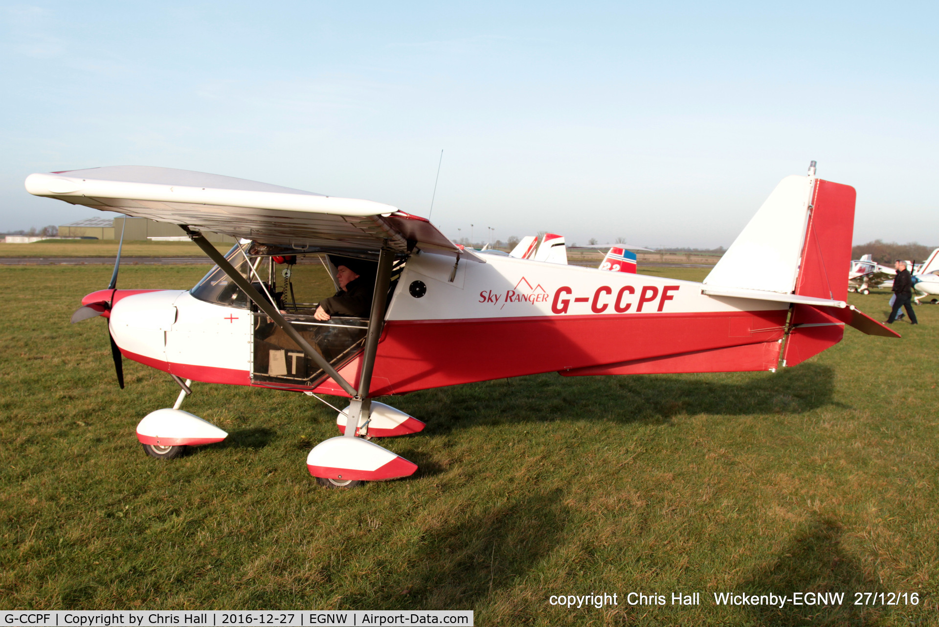 G-CCPF, 2004 Best Off Skyranger 912(2) C/N BMAA/HB/340, at the Wickenby