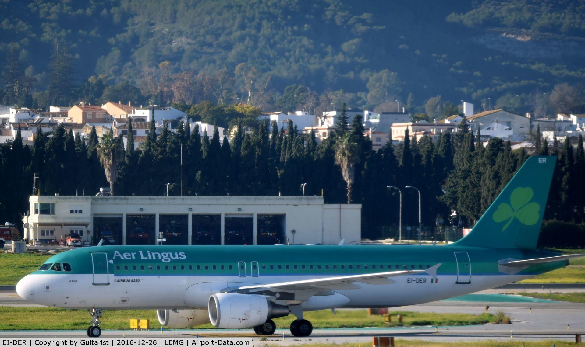EI-DER, 2005 Airbus A320-214 C/N 2583, At Malaga