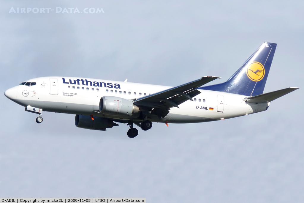 D-ABIL, 1991 Boeing 737-530 C/N 24824, Landing