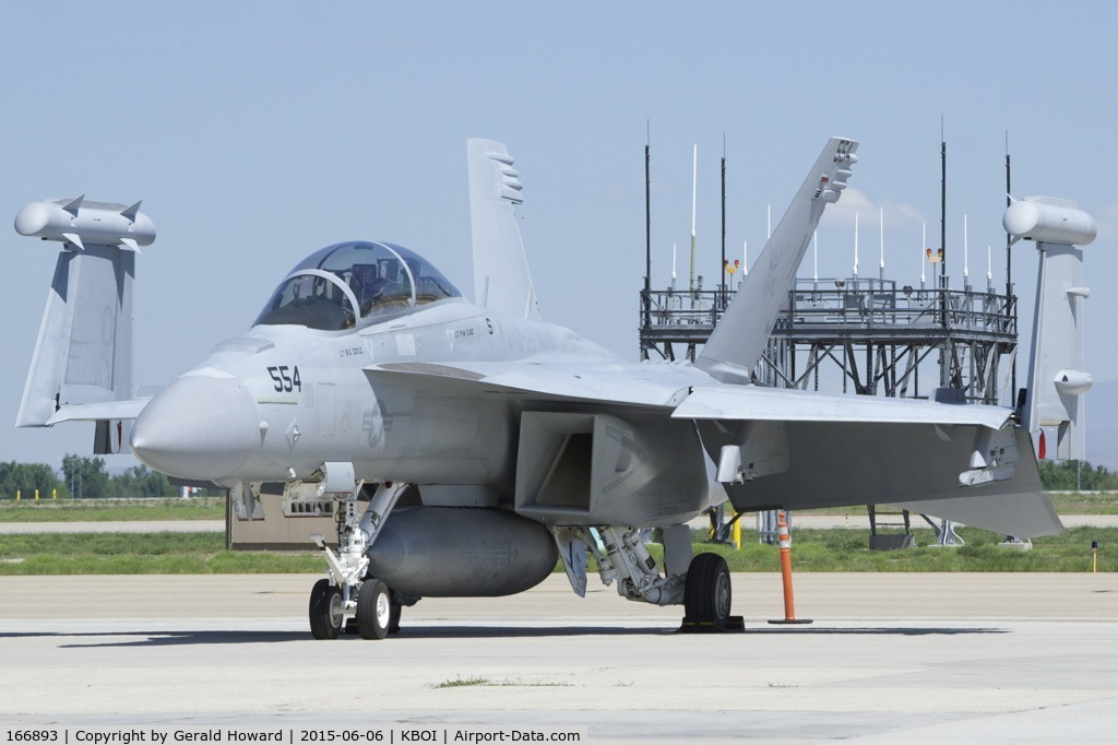 "166893, Boeing EA-18G Growler C/N G-5, VAQ-129  ""Vikings"", NAS Whidbey Island, WA."