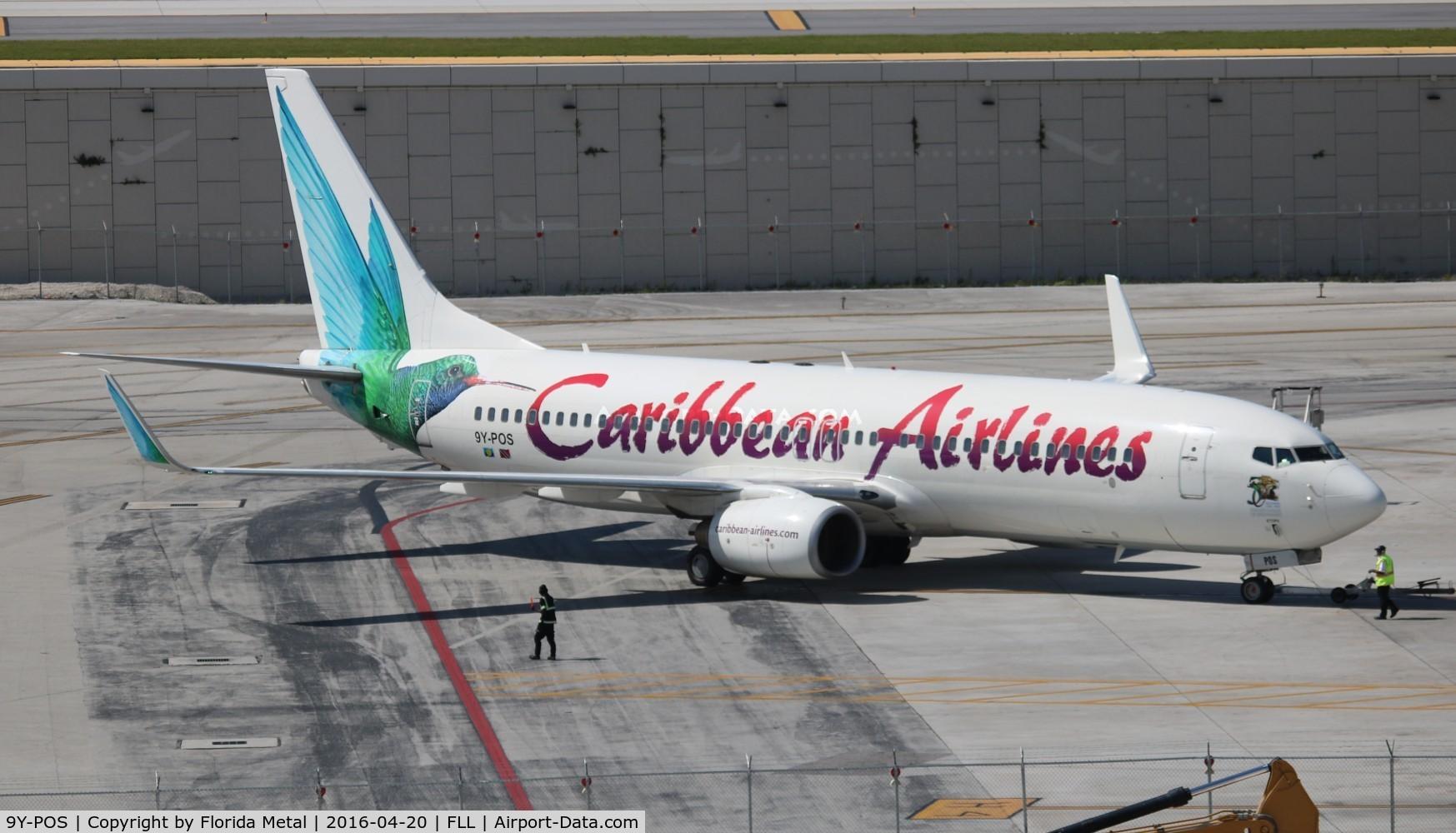 9Y-POS, 2000 Boeing 737-8Q8 C/N 28230, Caribbean