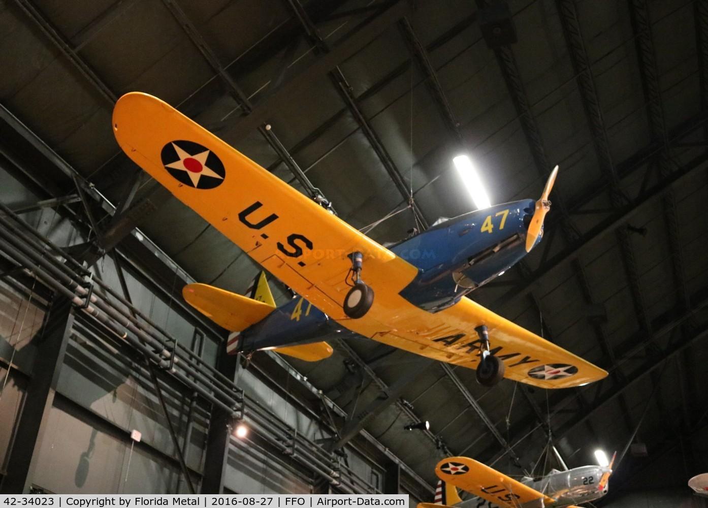 42-34023, 1942 Fairchild PT-19A-FA C/N TA42-3589, PT-19A