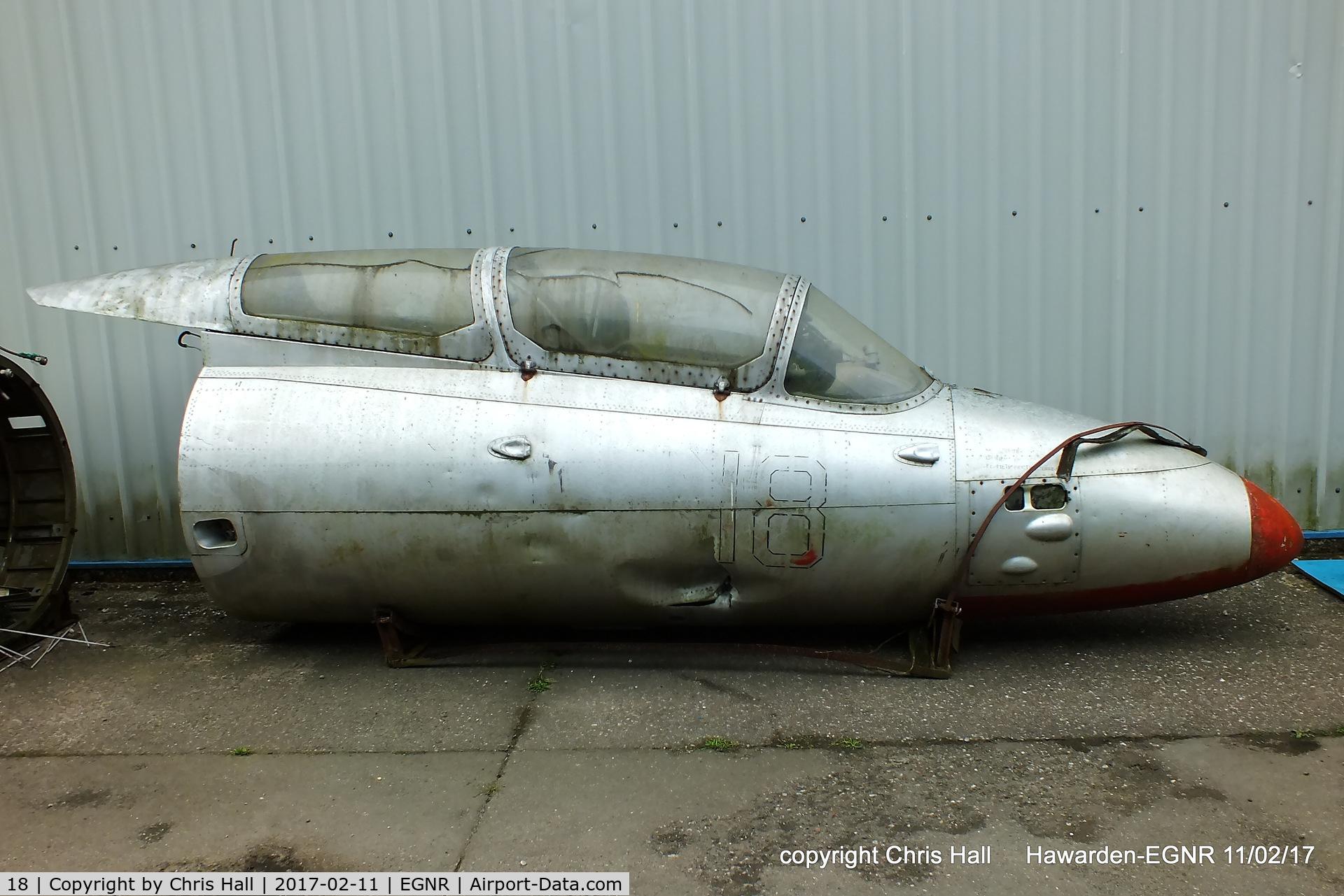 18, Aero L-29 Delfin C/N 591771, at Hawarden