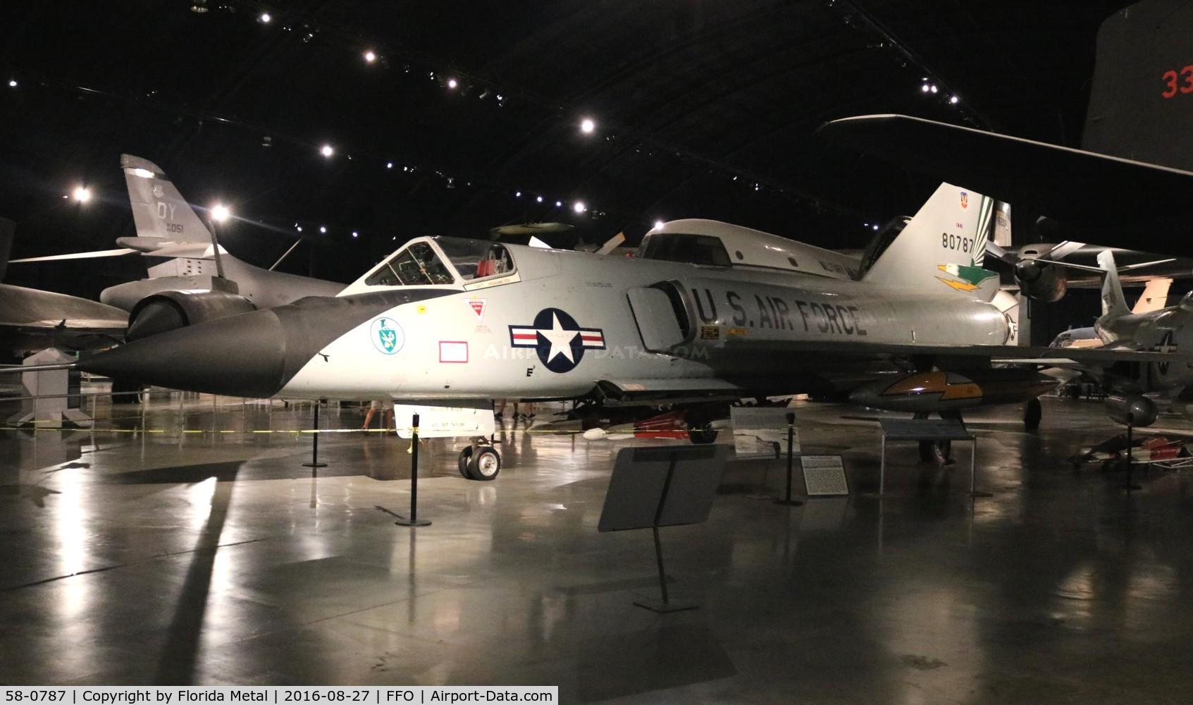 58-0787, 1958 Convair F-106A Delta Dart C/N 8-24-118, F-106A