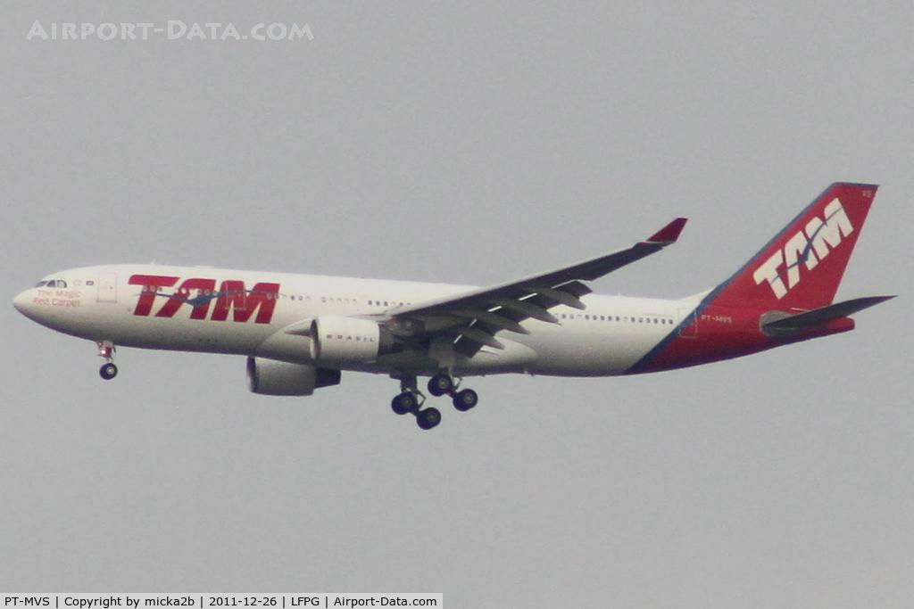 PT-MVS, 2010 Airbus A330-223 C/N 1112, Landing