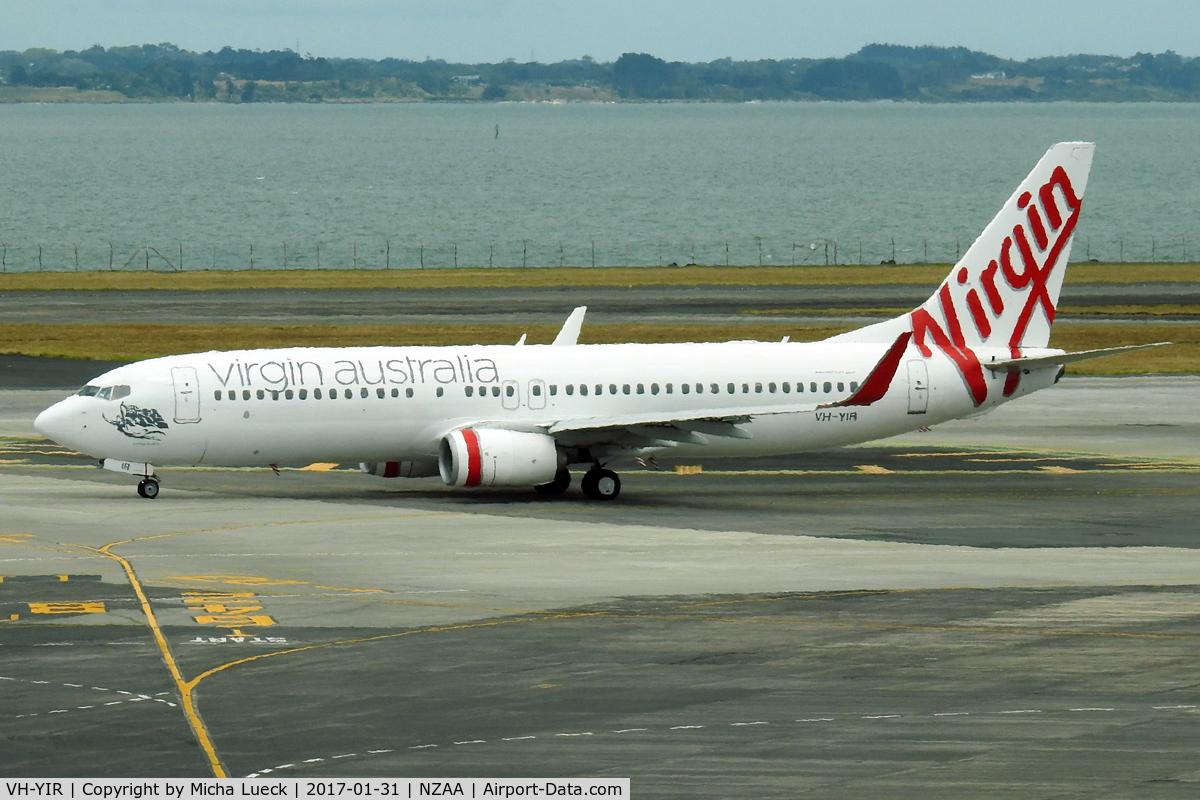 VH-YIR, 2012 Boeing 737-8FE C/N 39925, At Auckland