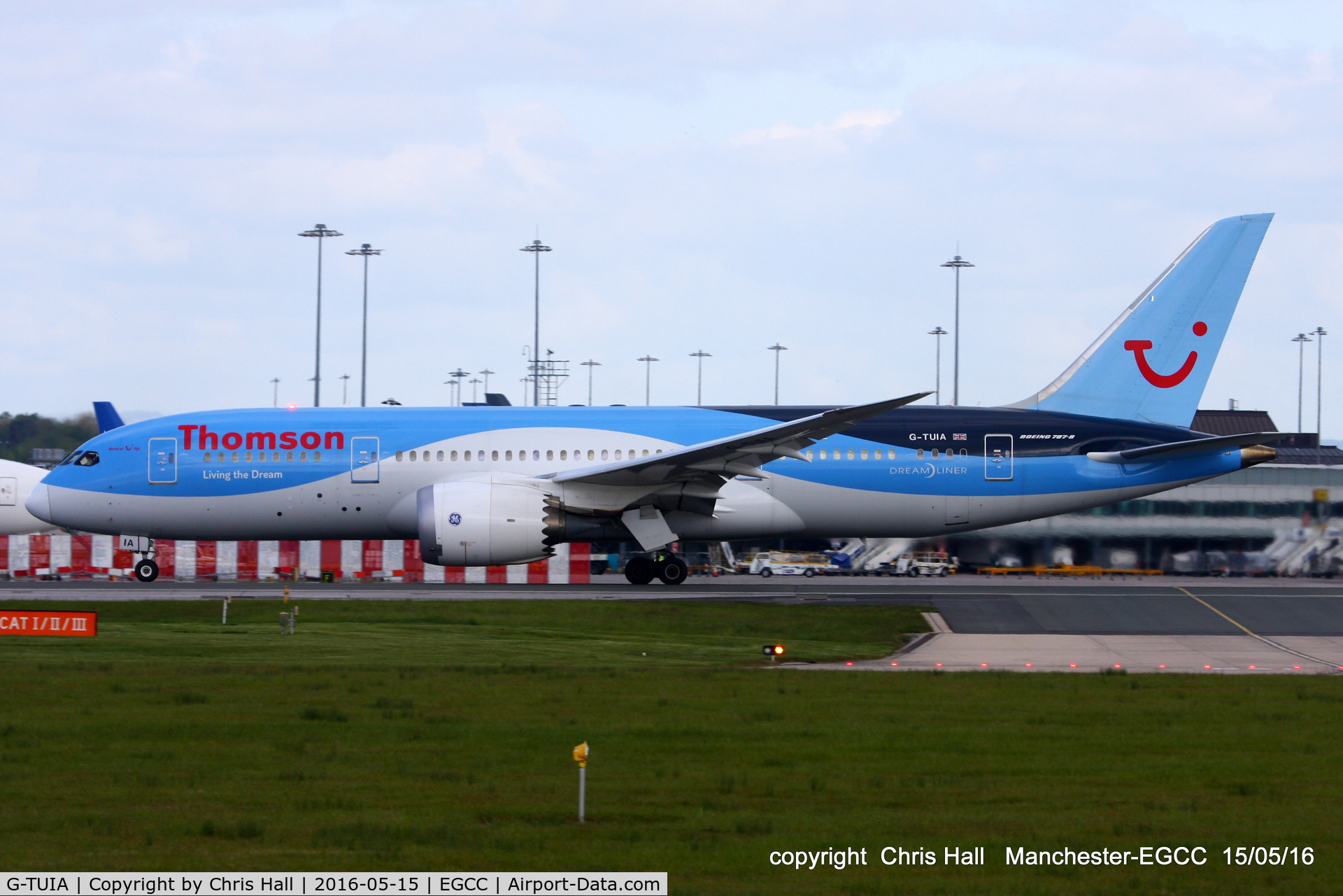 G-TUIA, 2013 Boeing 787-8 Dreamliner C/N 34422, Thomson