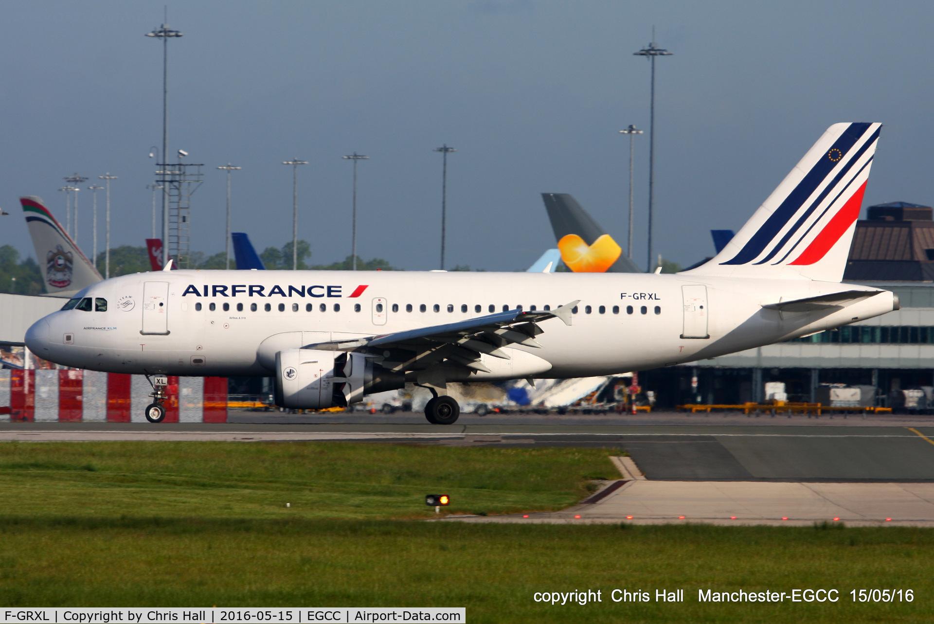 F-GRXL, 2006 Airbus A319-111 C/N 2938, Air France