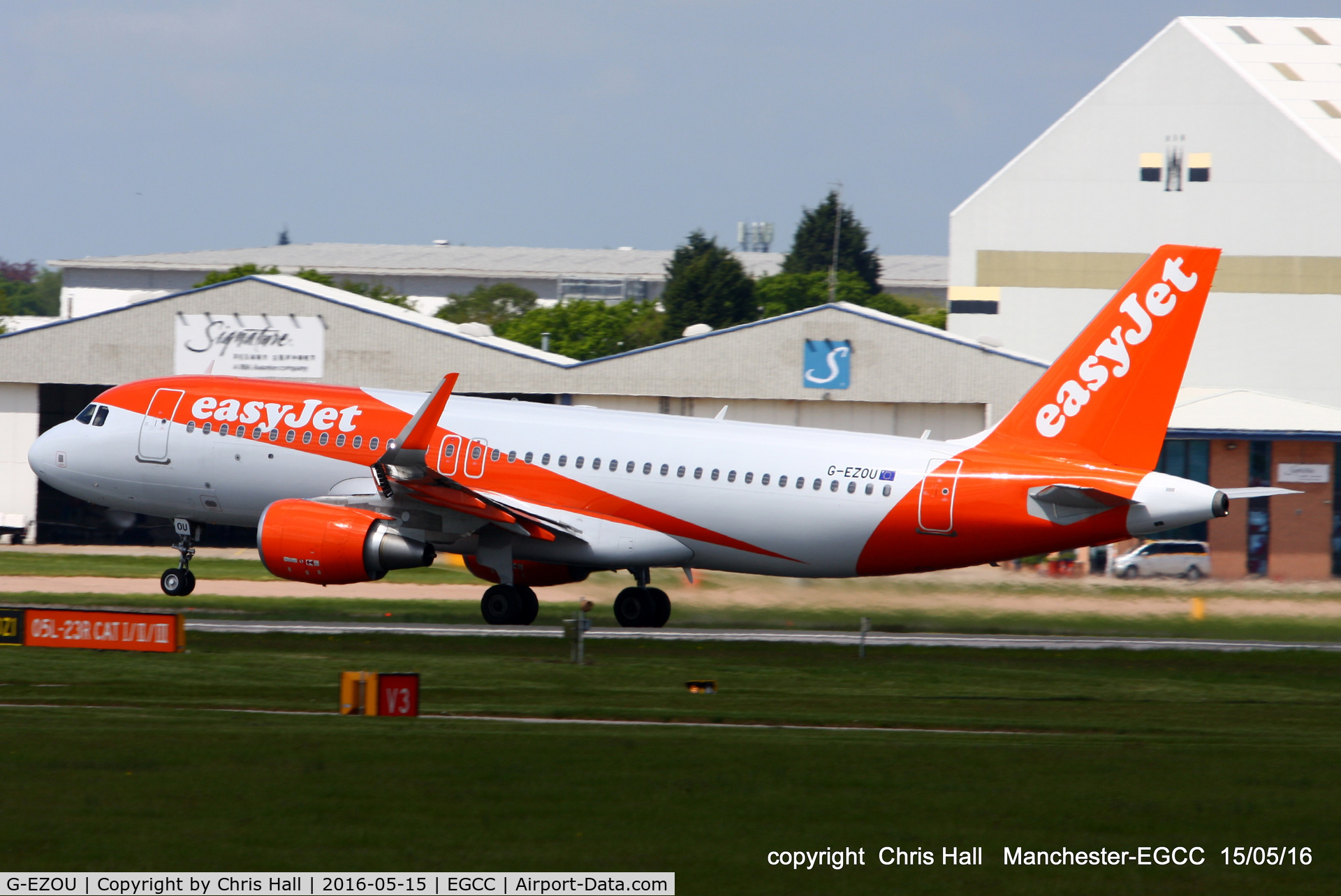G-EZOU, 2015 Airbus A320-214 C/N 6754, easyJet