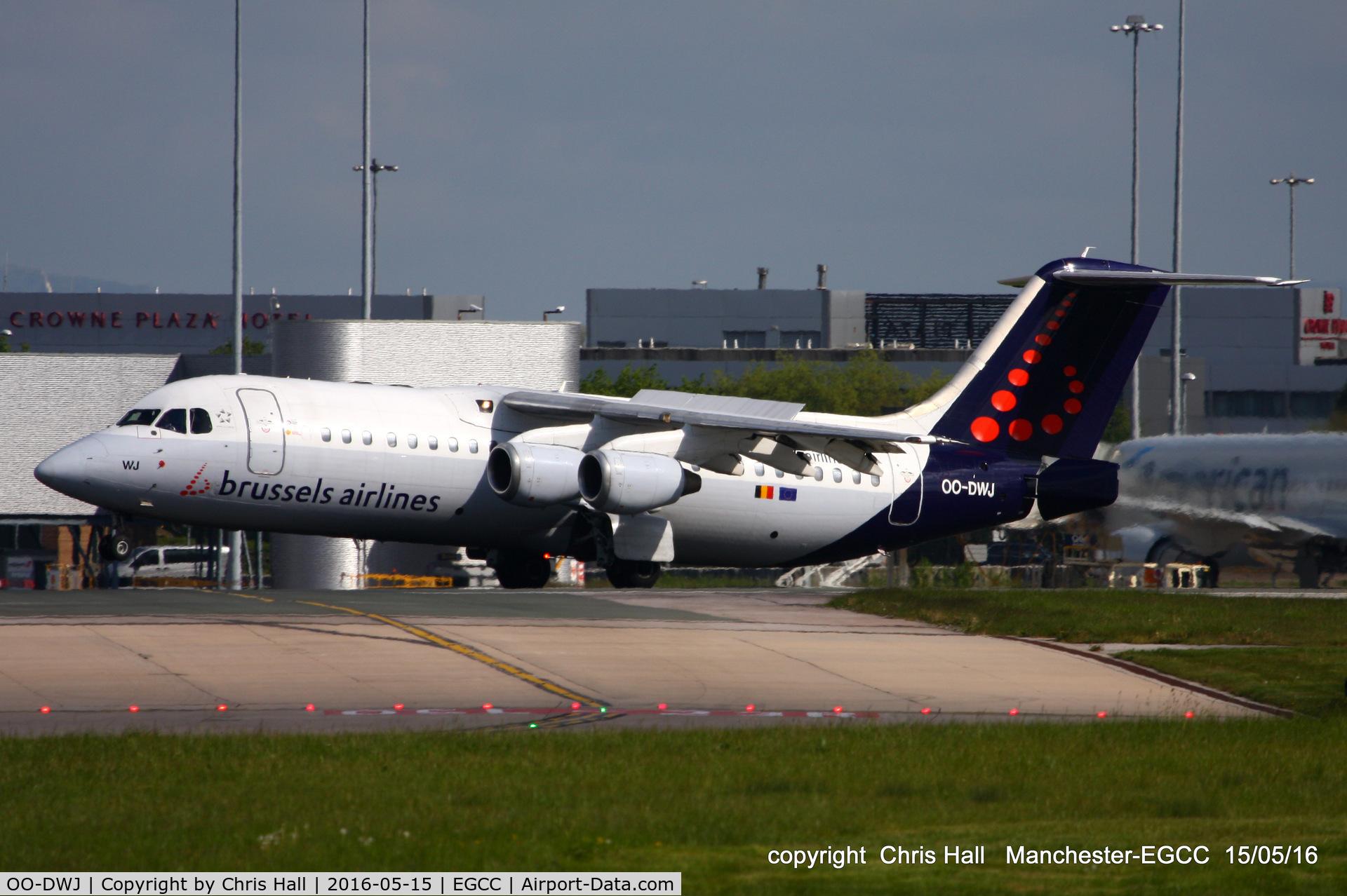OO-DWJ, 1999 British Aerospace Avro 146-RJ100 C/N E3355, Brussels Airlines